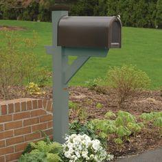 highwood® Hazleton Mailbox Post - Mailbox Posts at Hayneedle