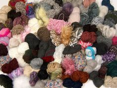 Tekleme Karışımlar Aranjmanlar  Leftover Yarns Please note that this mixed lot includes unlabeled leftover yarns. There is no standard for fiber content and weight. Skein weight given for this lot is average. Brand Ice Yarns fnt2-54638