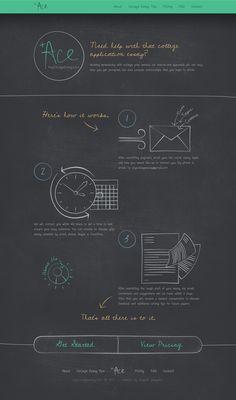 Unique Web Design, Ace #WebDesign #Design (http://www.pinterest.com/aldenchong/)