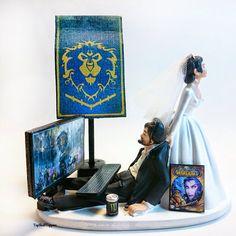 Alliance Wedding Cake Topper