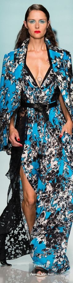 Emanuel Ungaro Collection Spring 2015 Ready-to-Wear