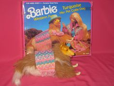 Barbie's Dog: Turquoise