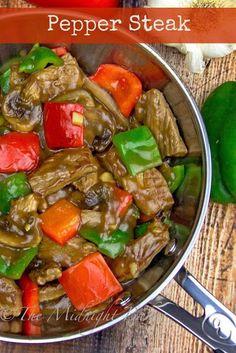 Pepper Steak One Dish Dinner Recipe