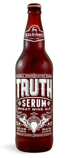 Russell Brewing's Truth Serum - great name for a beer