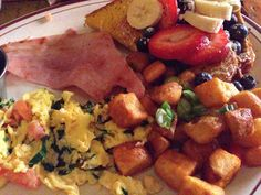 The Grey Dog - a really good brunch place with huge portions.