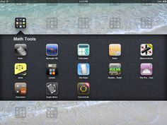 Here are some of the Math tools that I have on my iPad