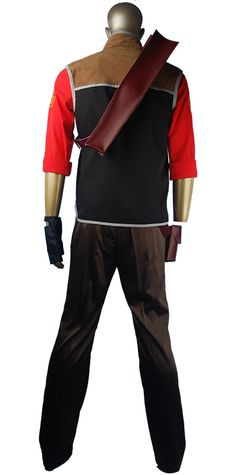 sniper uniform suit outfit team fortress 2 cosplay costume uniform shooter uniform halloween costume fancy gift for boys men - Tf2 Halloween Masks