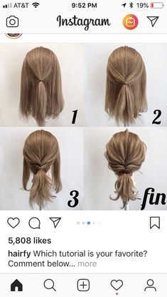 work hairstyles for long hair Up Dos For Medium Hair, Easy Hairstyles For Medium Hair, Short Hair Updo, Medium Hair Styles, Braided Hairstyles, Curly Hair Styles, Casual Updos For Medium Hair, Simple Hair Updos, Quick Easy Hairstyles
