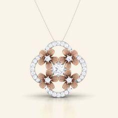 Ginny diamond pendant