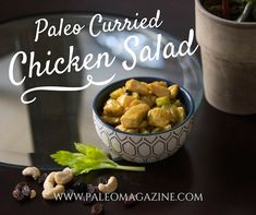 Paleo Curried Chicken Salad Recipe http://paleomagazine.com/paleo-curried-chicken-salad-recipe #paleo #gf #glutenfree #recipe #diet