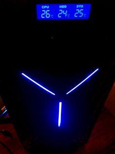 Gabinete NZXT GUARDIAN 921 RB 3 Ventiladores eSata USB LED Azul