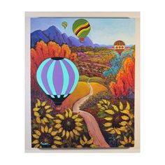 2012 @BalloonFiesta poster by one my favorite New Mexico artists, Dee Sanchez.
