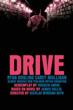 Drive Movie Poster Paper or Plexiglas or Canvas by FunnyFaceArt, $15.00