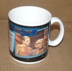 Star Trek Deep Space Nine Ep 410 Armin Shimerman Rene Auberjonois Coffee Mug