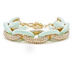 Rental Slate & Willow Accessories Hedy Bracelet ($5) ❤ liked on Polyvore featuring jewelry, bracelets, enamel bracelet, pave bracelet, hermes enamel bracelet, enamel bangle and druzy bracelet