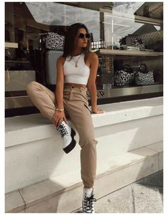 Trendy Fall Outfits, Cute Casual Outfits, Stylish Outfits, Spring Outfits, Girl Outfits, Spring Clothes, Winter Clothes, Sporty Outfits, Rock Fall Outfits