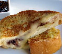 'A Couple in the Kitchen' web site, their Brie French Toast, go take a look at their yummy things.