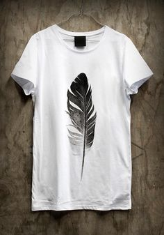 Feather t-shirt design