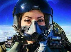 Carmen the masked Pilot Jet Fighter Pilot, Air Fighter, Female Fighter, Fighter Jets, Military Girl, Military Jets, Military Aircraft, Female Army Soldier, Female Pilot