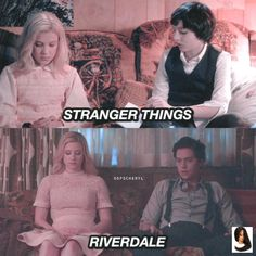 stranger things x riverdale parallel parallel riverdale stranger Stranger Things. stranger things x riverdale parallel parallel riverdale stranger Stranger Things. Memes Riverdale, Watch Riverdale, Bughead Riverdale, Riverdale Funny, Riverdale Tv Show, Stranger And Stranger, Stranger Things Quote, Stranger Things Aesthetic, Stranger Things Netflix