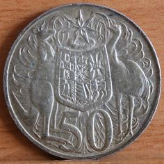Round 1966 Old Coins, Rare Coins, Australian Money, Valuable Coins, Gold And Silver Coins, Life Choices, Coin Collecting, Science And Nature, Childhood Memories