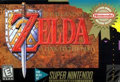 The Legend of Zelda: A Link To The Past (Player's Choice) - Super NES Box (USA)
