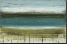 Shoreline Horizons Stretched Canvas Print by Heather Mcalpine at Art.com