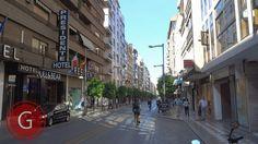 GRANADA   CENTRO   Calle Recogidas, frente a Hotel Presidente, de espaldas a Puerta Real.