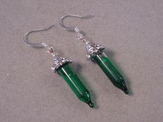 Christmas Jewelry Earrings Green CHRISTMAS TREE by magiccloset, $11.00