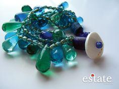 Lovely glass bracelet $30