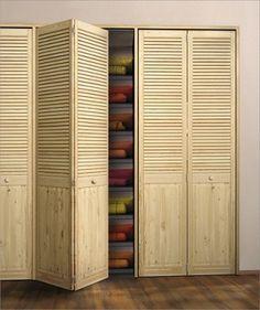 Складные двери и дверки жалюзийного типа - инструкция по установке. В каких помещениях удобно устанавливать складные двери?  