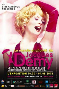 Exposition Le monde enchanté de Jacques Demy 2013 à Paris12. Du 10 avril au 4 août 2013 à Paris12.