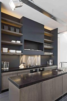 Modern Kitchen Cabinet Without Handle oak fitted #kitchen without handles cloe - composition 3cesar
