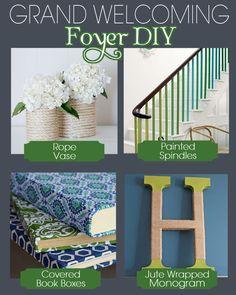 Foyer DIY Ideas