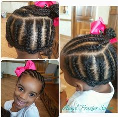 Curly short hair styles always look adorable on little girls. And since children do not take much care of Lil Girl Hairstyles, Natural Hairstyles For Kids, Kids Braided Hairstyles, Princess Hairstyles, Natural Hair Styles, Short Hair Styles, Toddler Hairstyles, Natural Beauty, Little Girl Braids