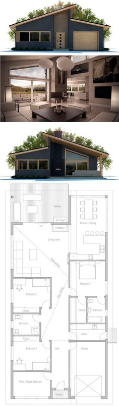 Dream Home Plans, New home ideas, New House plans.