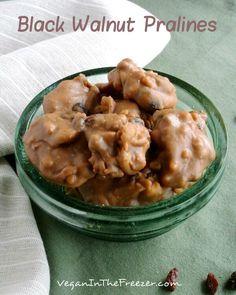 Black Walnut Pralines are a wonderful twist on the traditional Pecan Praline.