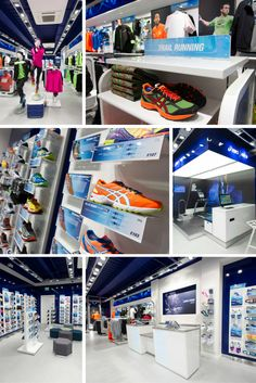 #ASICS #Flagship Store - Trial: UK, Spain, Portugal, Germany, Holland, Brazil, USA + China. #Design + Development - Made in Britain - #Prototype - #Sustainability - Trial #Store - Value #Engineering - #Retail