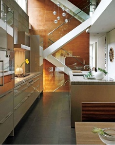 love the color scheme and the stairs at the backgrd! love it all!