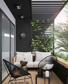 These are your beloved balkon design in the world Best Interior, Home Interior Design, Interior And Exterior, Interior Modern, Interior Ideas, Scandinavian Interior, Exterior Design, Classic Interior, Apartment Balcony Decorating