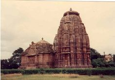 Rajarani Temple at Bhubaneswar, India. The uniqueness is that the body of the temple is made up of small fine temple sets in Khajuraho pattern