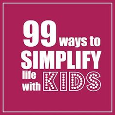 Eine Liste mit guten Ideen, die das Leben mit Kindern vereinfachen kann #die-besten-stoffwindeln.de