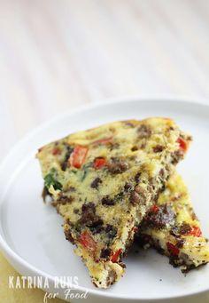 Whole30 Breakfast casserole (modify to make AIP compliant)