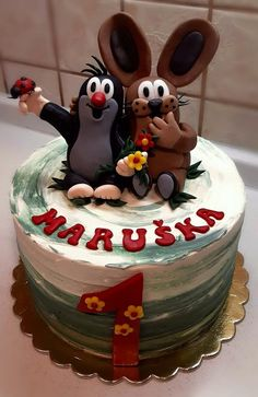 Naha, Mole, Cake Cookies, How To Make Cake, Fondant, Cake Decorating, Low Carb, Birthday Cake, Desserts