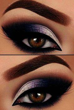 Makeup Revolution Division Palette Makeup Brushes Dollar Tree #eyemakeuptutorialbrownsmokey Eye Makeup Blue, Eye Makeup Tips, Smokey Eye Makeup, Eyeshadow Makeup, Makeup Brushes, Eyeliner, Makeup Ideas, Makeup Tutorials, Eyeshadow Palette