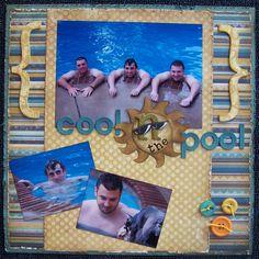 Cool N the Pool ~*~Swirlydoos~*~ - Scrapbook.com