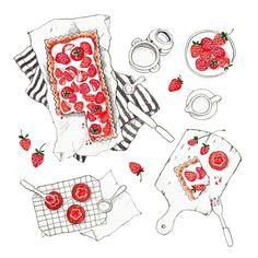 김혜빈 @moreparsley #strawberry party...Instagram photo | Websta (Webstagram)