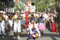 Gigantes da Lira abre a temporada de folia no Downtown