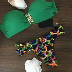 New Comfortably Womens Brazilian Low Waist Bikini Set Swimwear Women Swimsuit Sexy Swimwear Bathing Suit Biquinis Feminino 2016