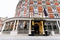 The Connaught Hotel in London ~ dinner @ The Connaught Grill is a MUST.